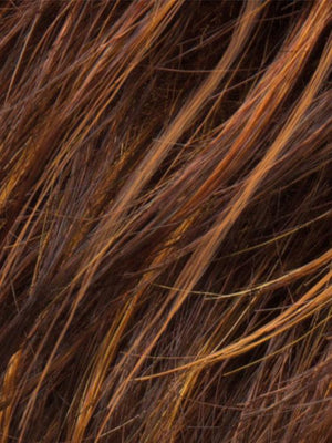 HAZELNUT ROOTED - 830.28.6 | Medium Brown base with Medium Reddish Brown and Copper Red highlights and Dark Roots
