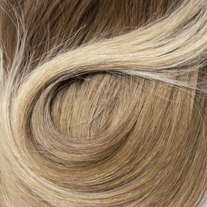 "WIG PRO FULL TOP BLEND MONOFILAMENT HUMAN HAIR 1/2"" TAPE TAB HAIRPEICE"