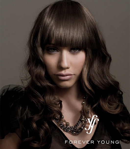 FOREVER YOUNG SLEEK FINISH SYNTHETIC BANG HAIRPIECE