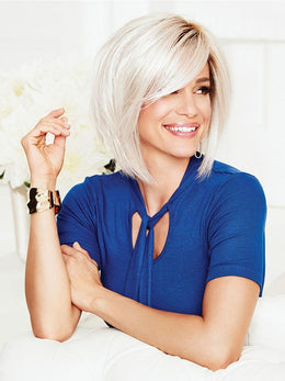 GABOR ON EDGE MONOFILAMENT SYNTHETIC WIG
