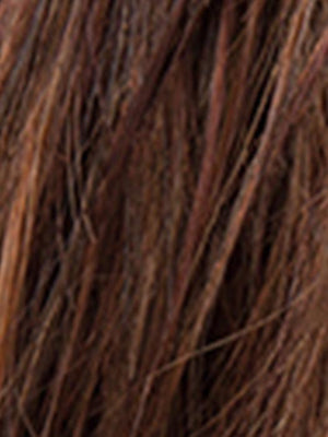 CHOCOLATE MIX - 8.30.27 | Medium to Dark Brown Base with Light Reddish Brown Highlights