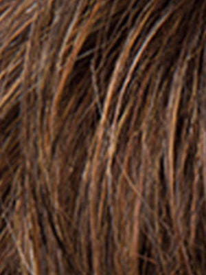 MOCCA ROOTED - 830.12.27 | Medium Brown, Light Brown, and Light Auburn Blend with Dark Roots