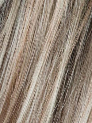 PEARL BLONDE ROOTED 101.16.14 | Pearl Platinum, Dark Ash Blonde, and Medium Honey Blonde mix