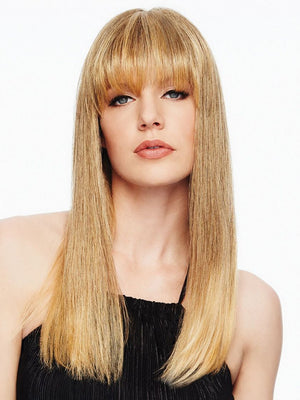 HAIRDO FRINGE TOP OF HEAD HEAT FRIENDLY SYNTHETIC HAIRPIECE