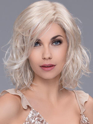 SHUFFLE by ELLEN WILLE in PASTEL BLONDE MIX | Pearl Platinum, Dark Ash Blonde, and Medium Honey Blonde mix