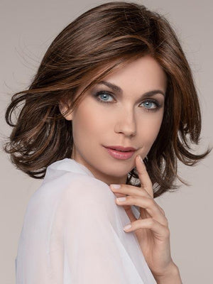 This style is the perfect layered bob with classic elegance and styling versatility