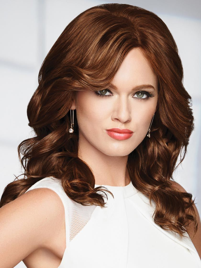 RAQUEL WELCH KNOCKOUT PETITE-AVERAGE HUMAN HAIR WIG
