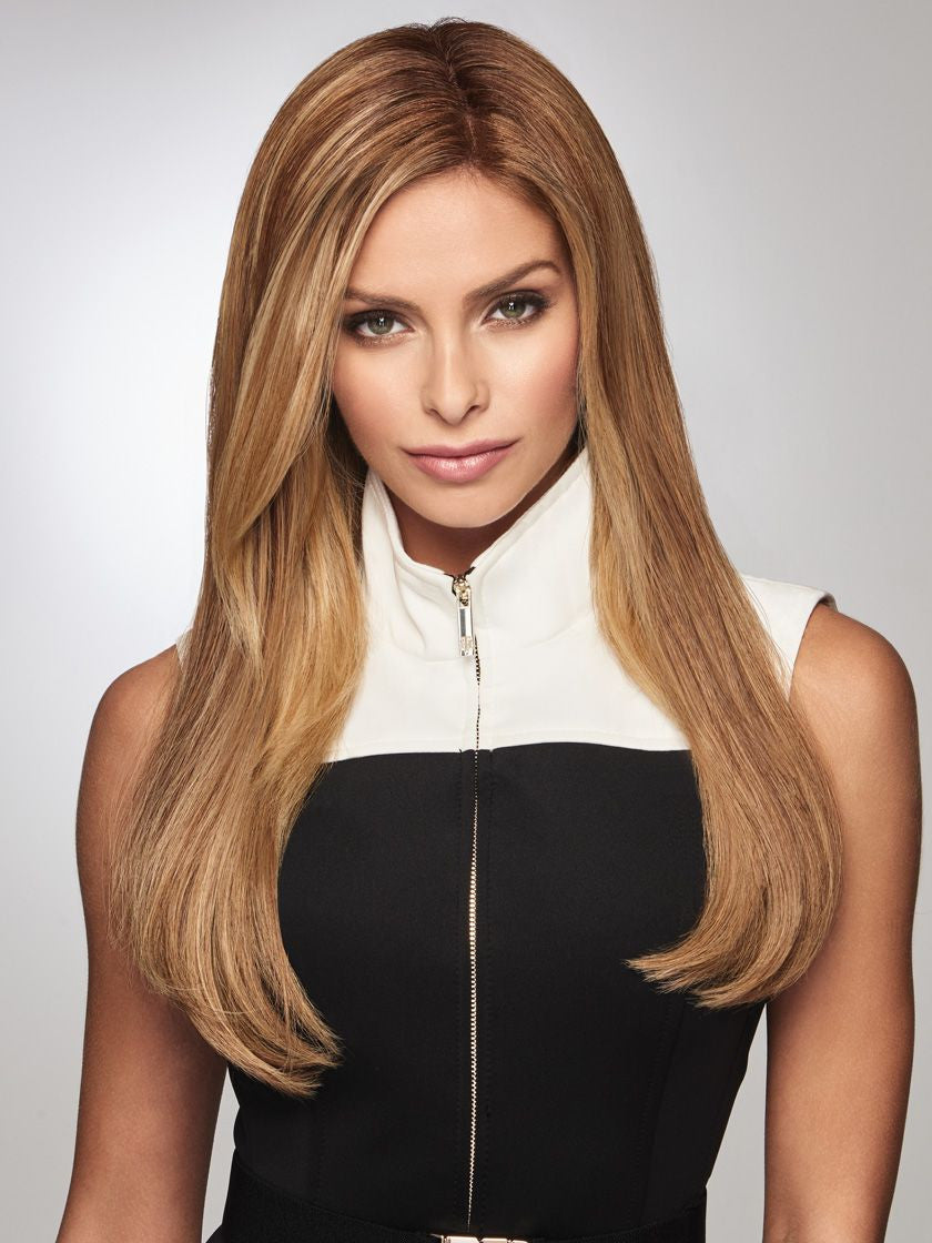 RAQUEL WELCH GILDED 18 INCH HUMAN HAIR SYNTHETIC HAIRPIECE