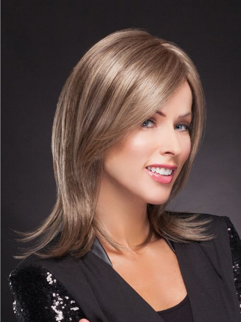TRESSALLURE SMOOTH SHOULDER SHAG LACE FRONT WIG