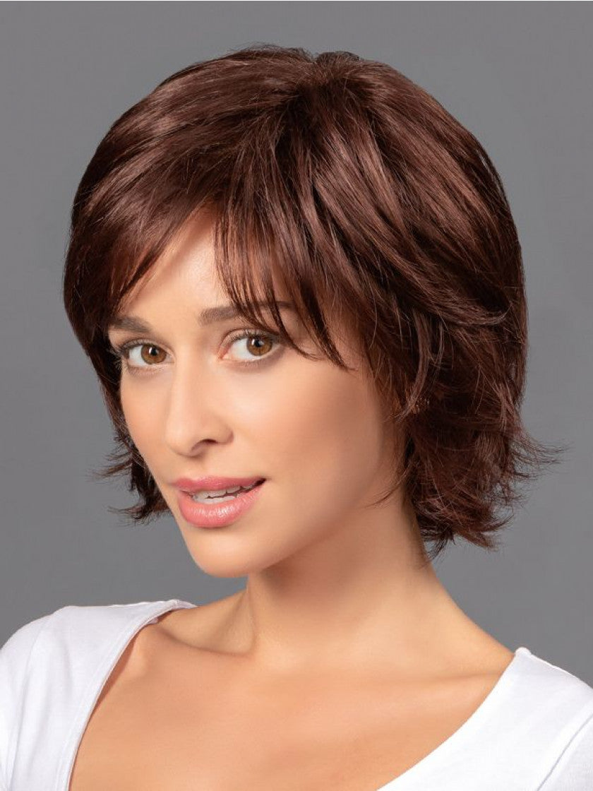 TRESSALLURE WAVY MID LAYERED SHAG LACE FRONT WIG