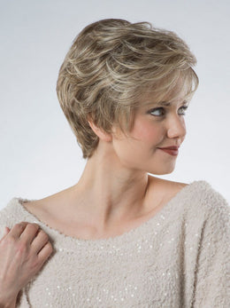 TONY OF BEVERLY PAULA PETITE MONOFILAMENT TOP WIG