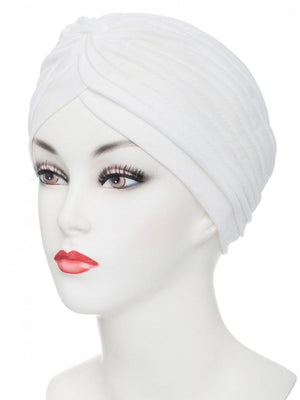 TONY OF BEVERLY PLEATED TURBAN