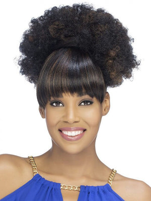 VIVICA FOX BANG AND PONY JANAE HEAT FRIENDLY SYNTHETIC HAIRPIECE