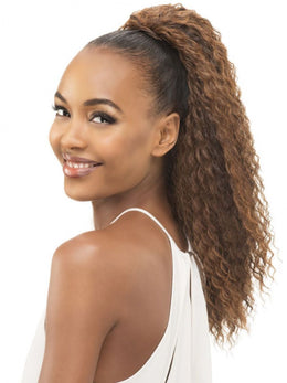 "VIVICA FOX 21"" LEMON POCKET BUN HAIRPIECE"