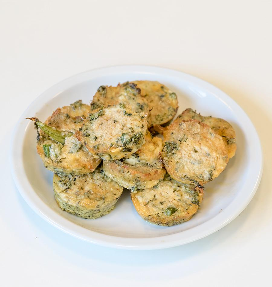 Broccoli and Cheese Bites