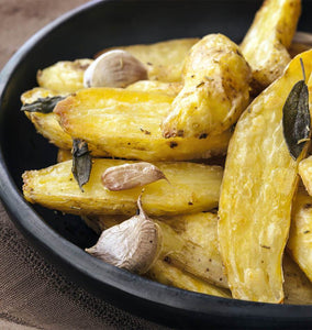Roasted Fingerling Potatoes with Garlic and Herbs