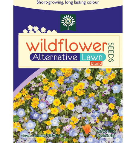 Alternative Lawn Wildflower Seeds Sprinkle Bag