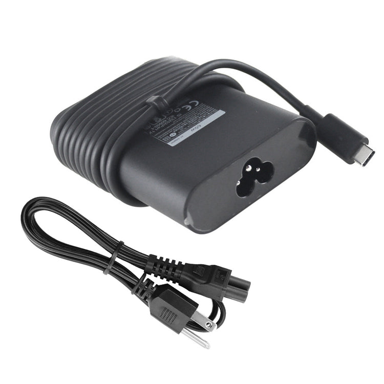 65W Dell inspiron 14 7400 USB-C Charger AC Adapter Power Supply + Cord