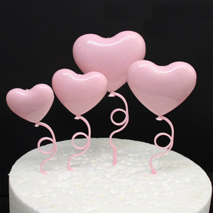 Heart Shape Cake Topper