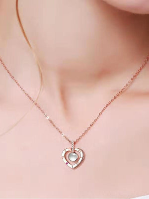I Love You Necklace (100 Languages)