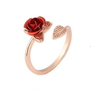 Beautiful adjustable Rose Ring
