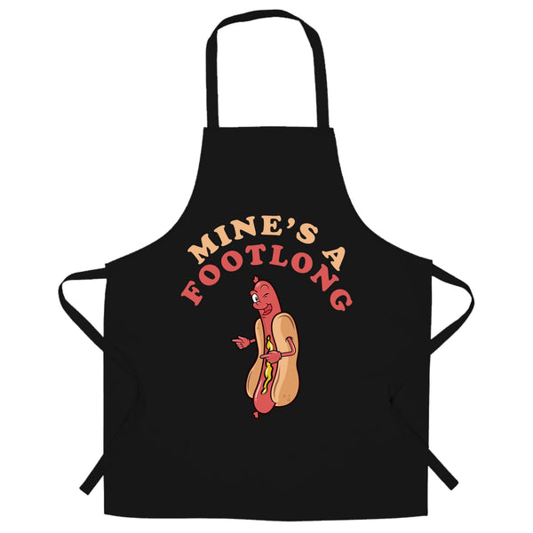 Mine's A Footlong Apron