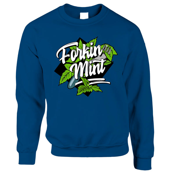 Forkin Mint Sweatshirt