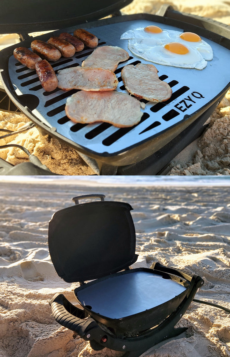 [Stainless Steel Weber Plate Grill] - EZY Q