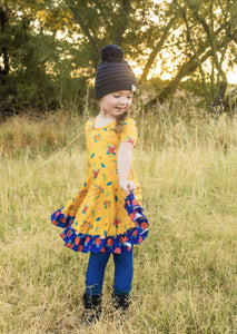 AAA Royal Blue Leggings Just For Littles