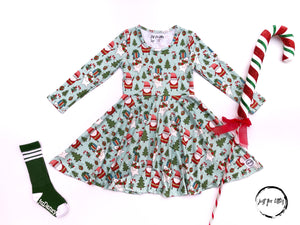 AAAA Santa Dress Dress Just For Littles