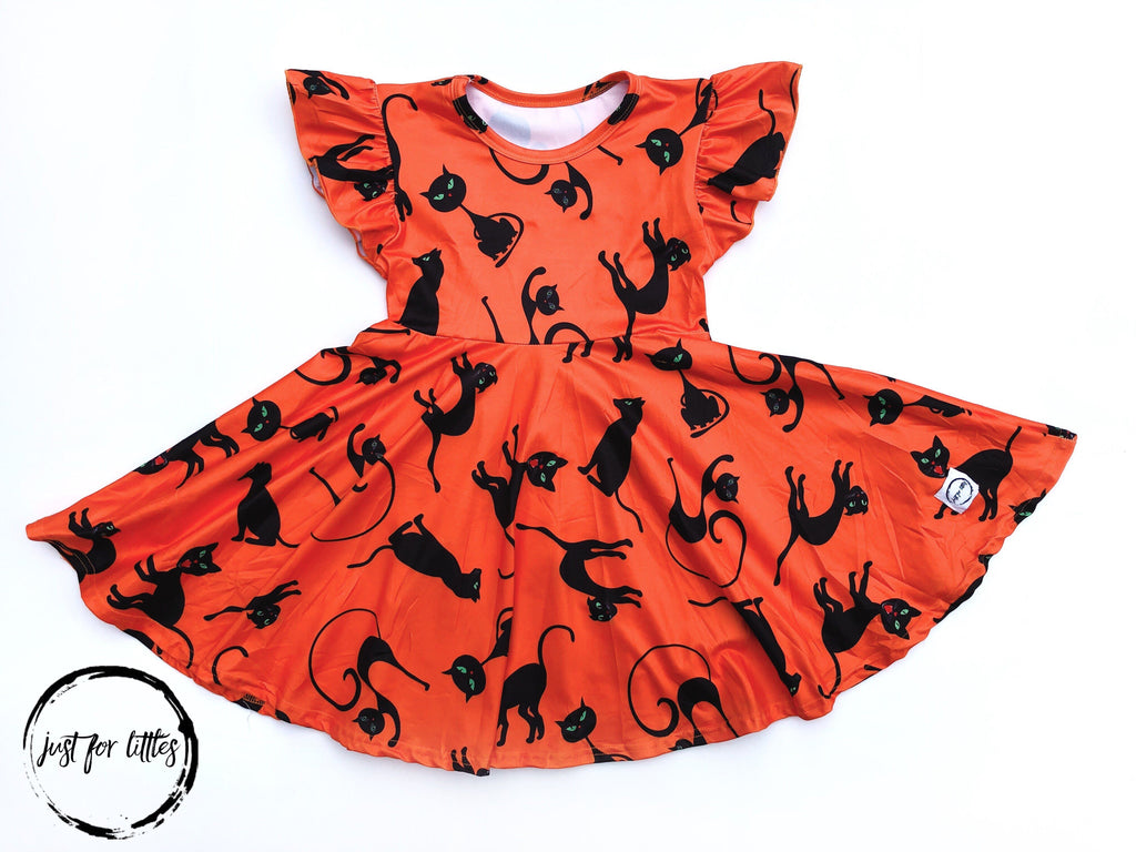 Black Cat Dress Just For Littles