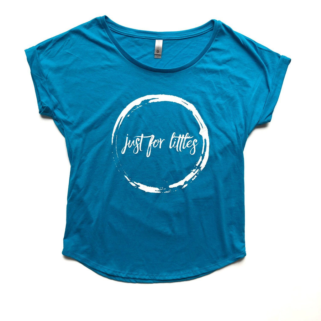 Blue JustForLittles T-Shirt Just For Littles