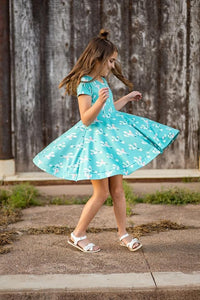 Cactus Twirl Dress Just For Littles