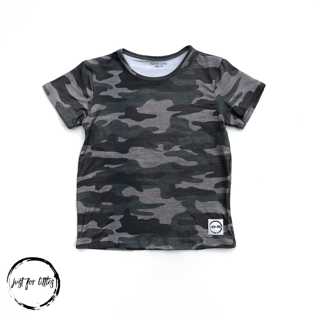 Camo T-Shirt Just For Littles