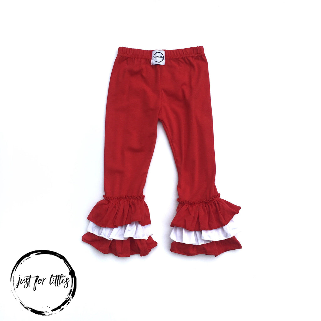 Cardinal Three-Tier Leggings Just For Littles
