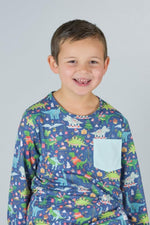 Load image into Gallery viewer, Christmas Dinosaur T-Shirt Shirt Just For Littles™