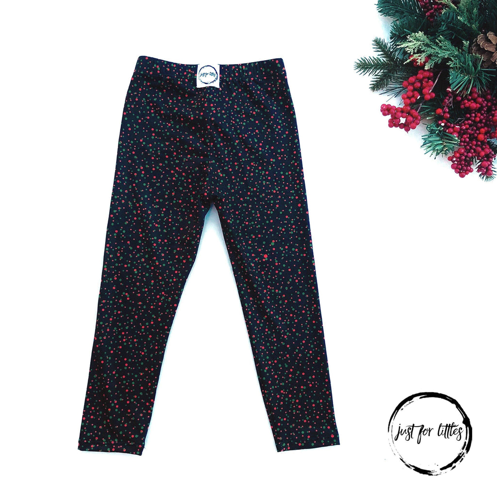 Christmas Dot Leggings Bottoms Just For Littles™