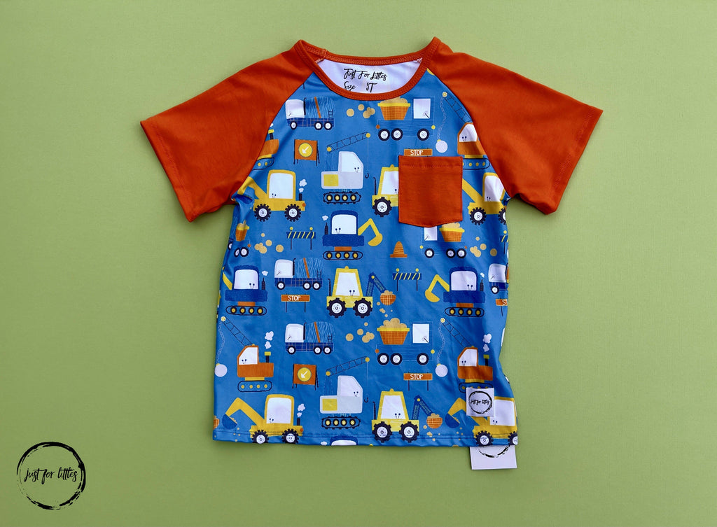 #Construction T-shirt Shirt Just For Littles™