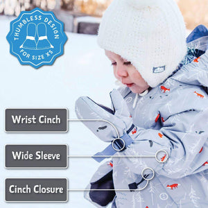 Cozy-Dry Waterproof Mitten accessories Jan & Jul