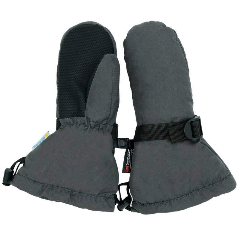 Cozy-Dry Waterproof Mitten accessories Jan & Jul XS- no thumb Charcoal Grey
