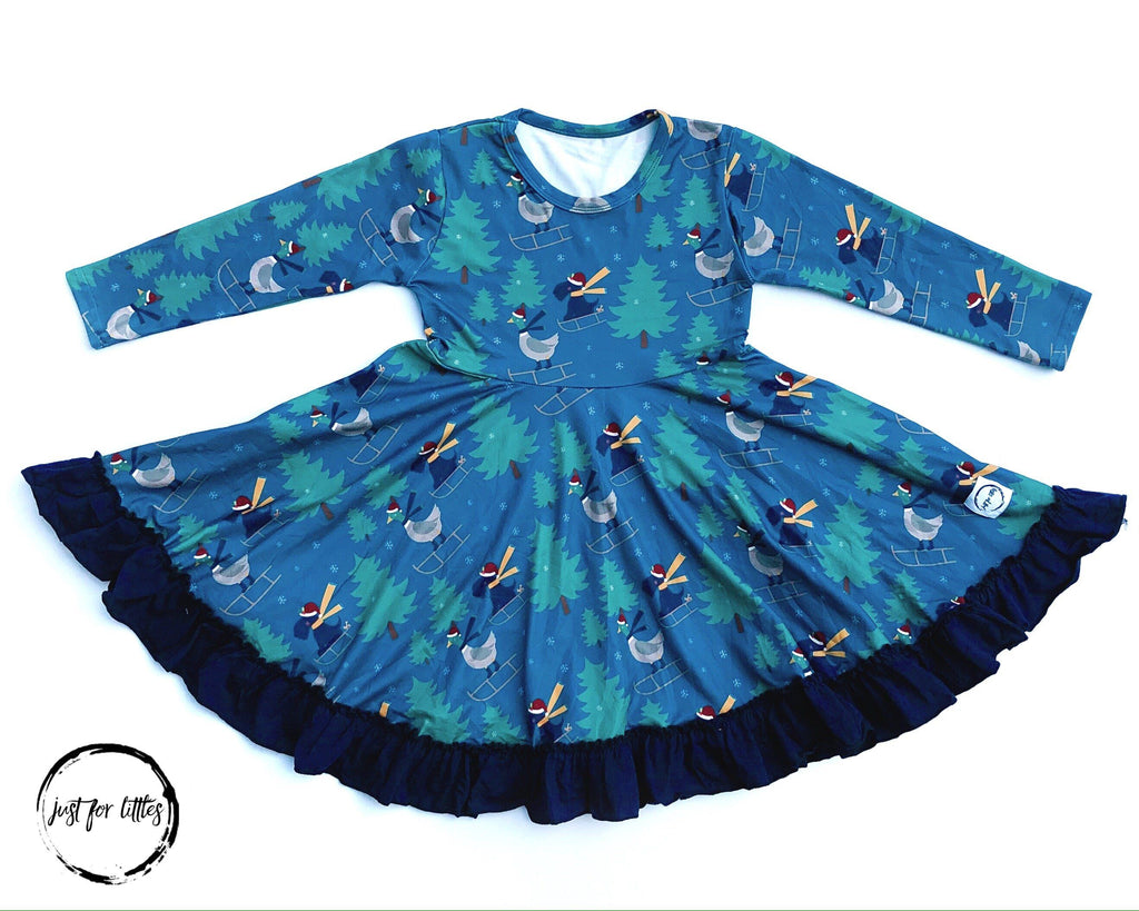 Dog and Duck JFL Rack Dress Just For Littles