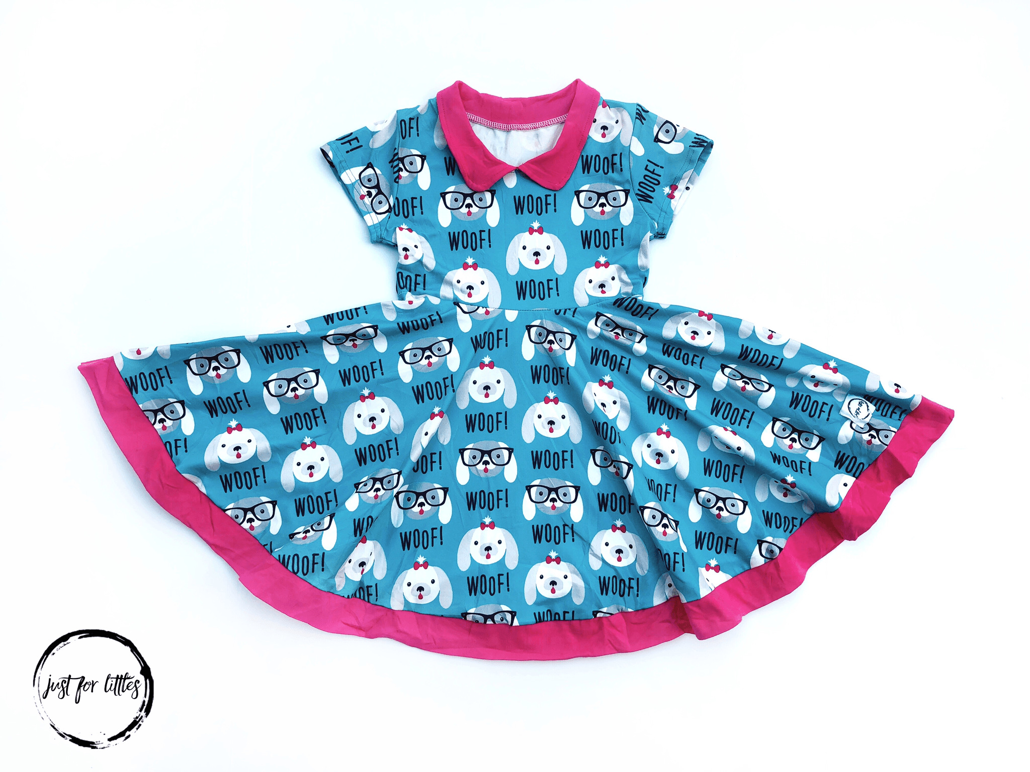 Doggie Twirl Dress Just For Littles