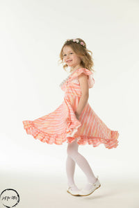 Dreamsicle Twirl Dress Just For Littles