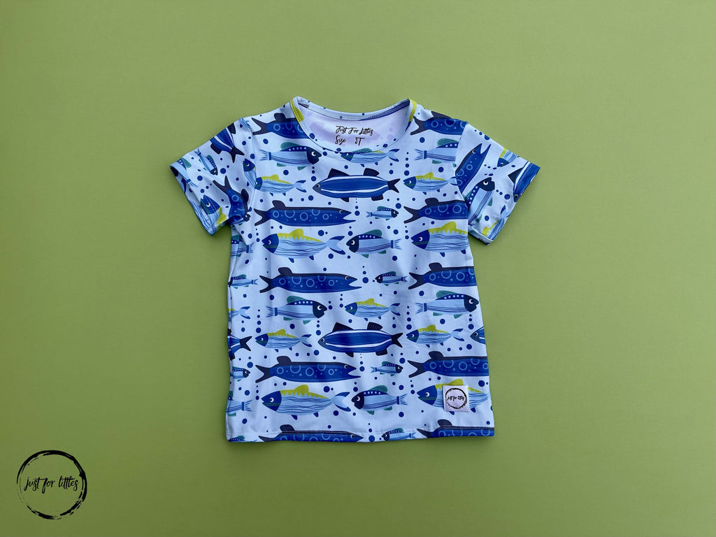 #Gone Fishing T-shirt Shirt Just For Littles™