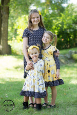 Load image into Gallery viewer, Happy Animal Twirl Dress Just For Littles