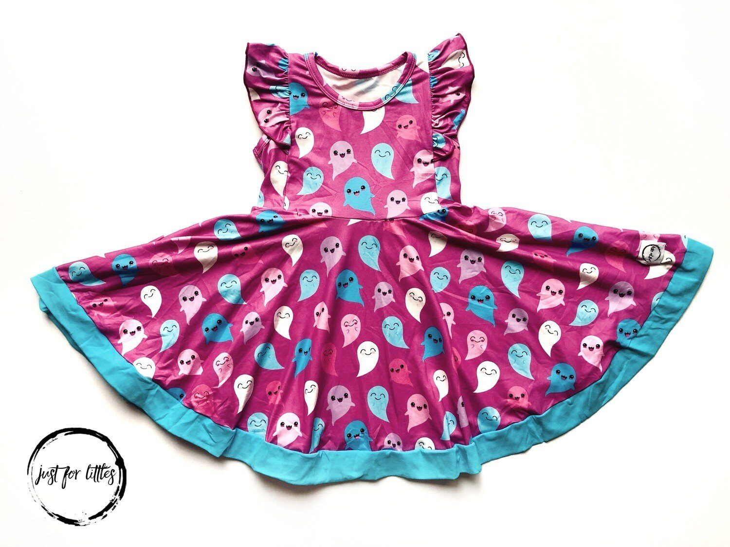Happy Ghost Twirl Dress Just For Littles