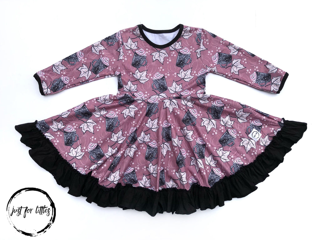 Hot Cocoa Twirl Dress Just For Littles