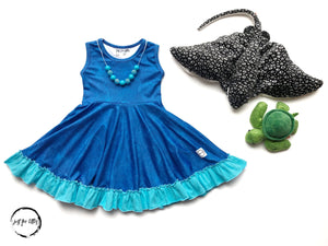 Jellyfish Twirl Dress Just For Littles