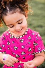Load image into Gallery viewer, Leopard Heart Top Shirt Just For Littles™