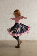Load image into Gallery viewer, Love Twirl Dress Just For Littles